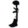 "Fallen Soldier Memorial Decal Sticker (3.8"")"