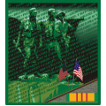 "Vietnam Veterans Memorial Wall Decal Sticker ( 3.8 "" )"