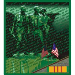 """Vietnam Veterans Memorial Wall Decal Sticker ( 3.8 """" )"""