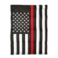 "THIN RED LINE GARDEN SIZE FLAG "" 12X18"""