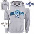 ARMY GREY HOODIE - CHOOSE YOUR PRINT/DESIGN