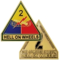 2ND ARMORED DIVISION COIN