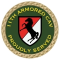 11TH ARMORED CAV COIN