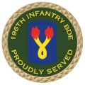 196TH INFANTRY COIN