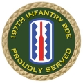 197TH INFANTRY COIN