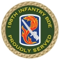 198TH INFANTRY COIN
