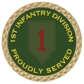 "1ST INFANTRY "" BIG RED 1 "" COIN"