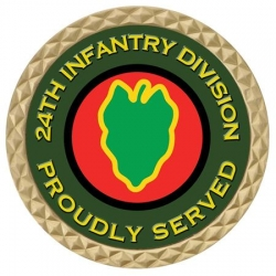 24TH INFANTRY DIV COIN