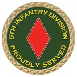 5TH INFANTRY DIV COIN