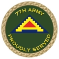 7TH ARMY COIN