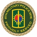8TH MILITARY POLICE COIN