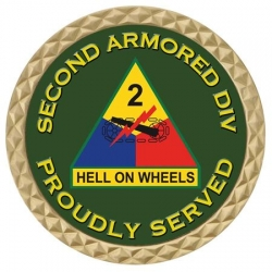2ND ARMORED DIV COIN