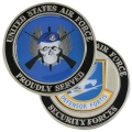 AIR FORCE SECURITY FORCES COIN