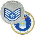AIR FORCE STAFF SERGEANT COIN
