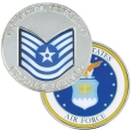 AIR FORCE TECHNICAL SERGEANT COIN