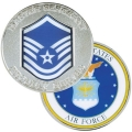 AIR FORCE MASTER SERGEANT COIN