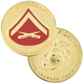 MARINE LANCE CORPORAL COIN