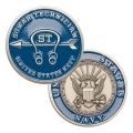 NAVY SONAR TECHNICIAN COIN