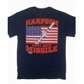 HARPOON ANTI-SHIP MISSILE T-SHIRT