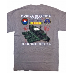 MOBILE RIVERINE FORCE MEKONG DELTA T-SHIRT