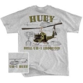 UH-1 HUEY Iroquois Military T-Shirt
