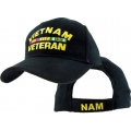 VIETNAM VETERAN HAT WITH RIBBONS