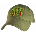VIETNAM ERA VETERAN HAT - OD GREEN