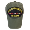 IRAQ & AFGHANISTAN VETERAN HAT - OD GREEN