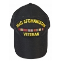IRAQ & AFGHANISTAN VETERAN HAT - AMERICAN MADE