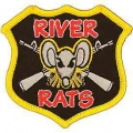 "PATCH-VIETNAM,RIVER RATS (3"")"