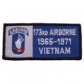 "PATCH-VIET,BDG,ARMY,173RD 1965-1971 (4-1/4"")"