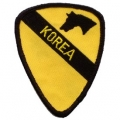 "PATCH-KOREA,001ST CAV (3"")"