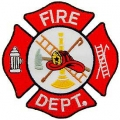 "PATCH-FIRE,DEPT.LOGO (RED/WHT) (3"")"