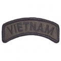 "PATCH-VIETNAM,TAB (SUBDUED) (1""X3-1/2"")"