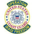IRAQI FREEDOM COAST GUARD VET PATCH