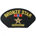 "PATCH-HAT,BRONZE STAR (3""X5-1/4"")"