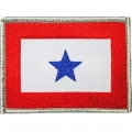 "PATCH-FAMILY MEMB.IN SVC. BLUE STAR (2-1/2""X3-1/2"")"