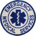 "PATCH-EMS,LOGO (BLU/WHT) (3-3/4"")"