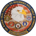 "PATCH-AMERICAN DEFENDERS (LRG) (5"")"