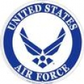 "SIGN-U. S. AIR FORCE SYMBOL (12"")"