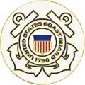 """PIN-USCG LOGO C (MED) (7/8"""")"""