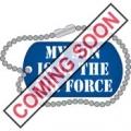 """USAF EMBLEM SON PIN (15/16"""")"""