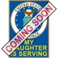 "PIN-USAF EMBLEM,DAUGHTER (15/16"")"