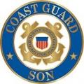 """USCG LOGO SON PIN (15/16"""")"""