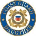 "USCG LOGO DAUGHTER PIN (15/16"")"