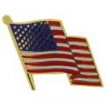 "USA FLAG WAVY II PIN (1"")"
