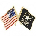 "PIN-ARMY, FLAG, USA/ARMY, SM (1"")"