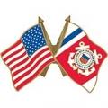 "PIN-USCG, FLAG, USA/USCG, SM (1"")"