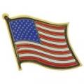 """USA FLAG WAVY PIN (1"""")"""