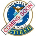 "PIN-USAF EMBLEM RETIRED (15/16"")"